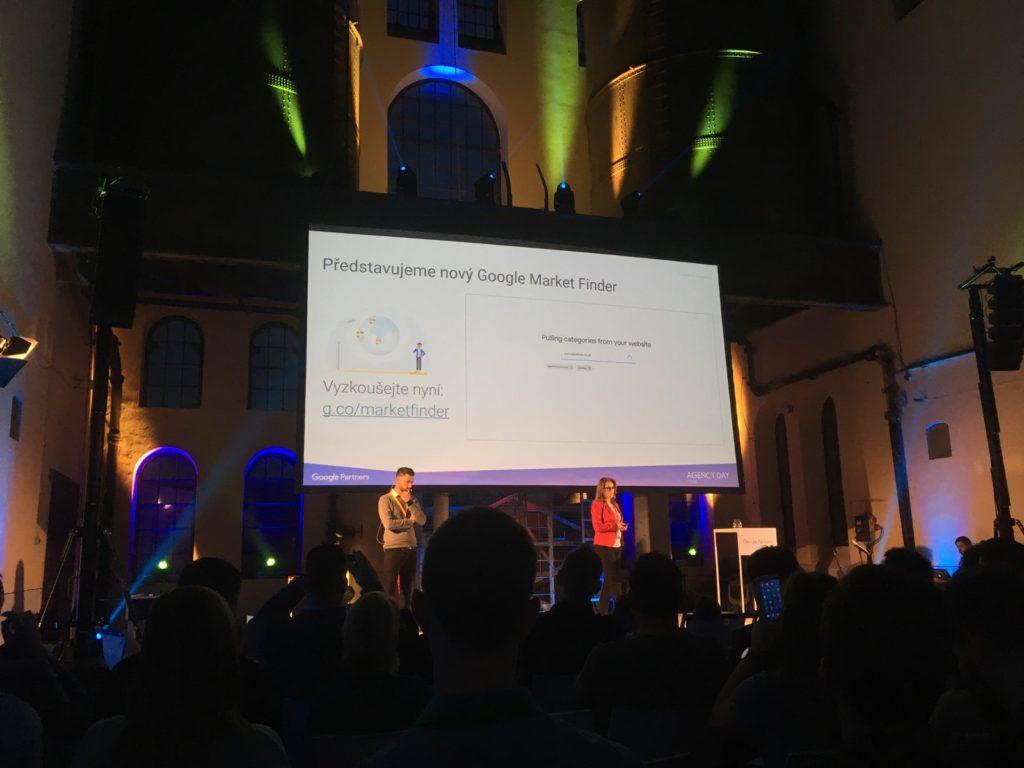 Google Agency Day 2018 - Nový nástroj Google Market Finder