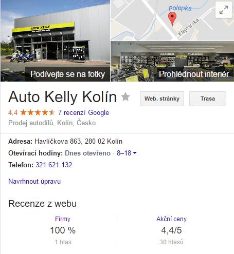 Hezký profil na Moje Firma v Kolíně