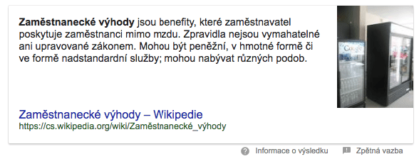 Charakteristika ve featured snippetu na Google