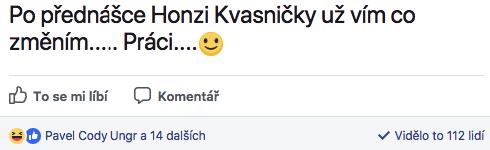 Reakce na přednášku Jana Kvasničky