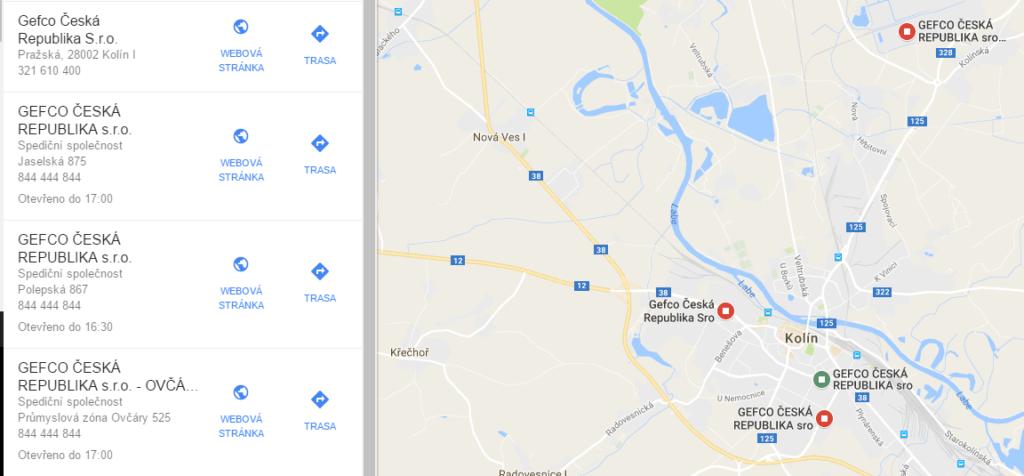 GEFCO Kolín