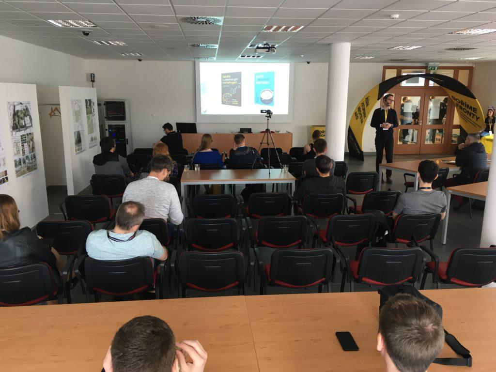 Josef Řezníček o obsahu na kolínském barcampu 2019