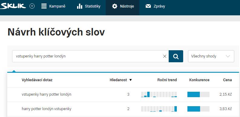 ppc-kampan-v-skliku-navrh-klicovych-slov