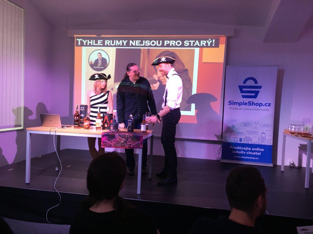 Pavel Ungr a rumy na kolínském barcampu 2019