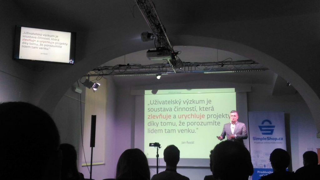 Uživatelský výzkum od Jana Řezáče na kolínském barcampu